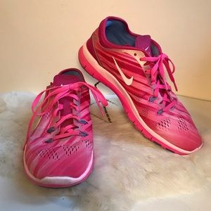 Nike Sneakers Free TR Fit 5 Athletic Shoe Pink 8.5